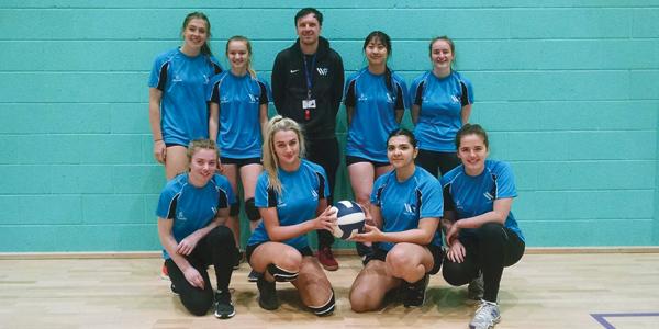 Winstanley College Educate Magazine Volleyball