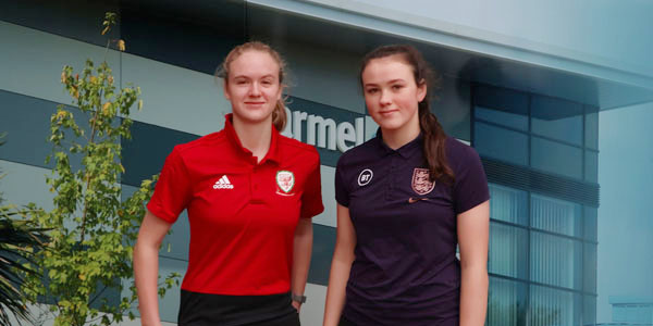 Rising Everton football stars selected for national squads