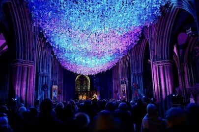 The Liverpool Cathedral is set to host a new art project with internationally-renowned sculptor and artist Peter Walker during half term