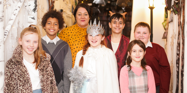 Narnia comes to Rudston Primary School