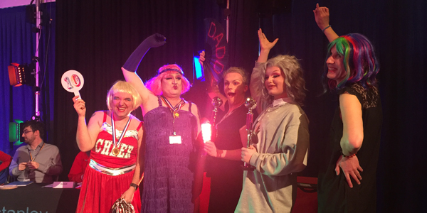 Life is a drag for charity event at Winstanley College!