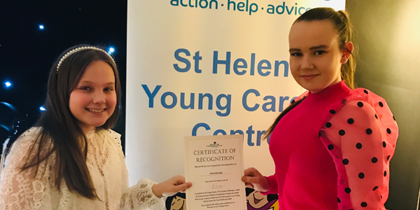 Rainford High raises money for St Helens Young Carers Centre