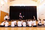 School welcomes gymnast Dan Purvis