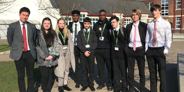 Dan Carden MP meets with students at Alsop High School