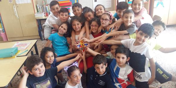 Message of hope from Italian teachers
