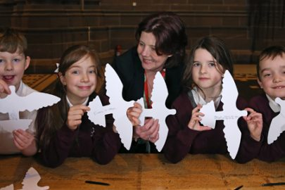 23,000 Peace Doves are winging their way to schools