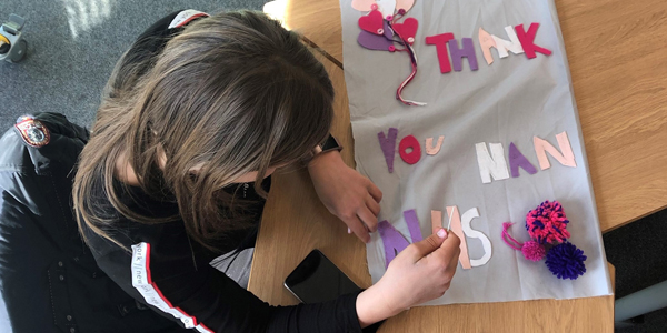 Rainford High students get creative for the NHS