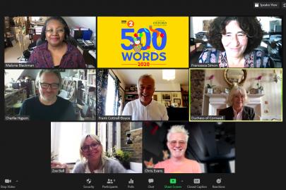 EMBARGOED - 500 Words Judges