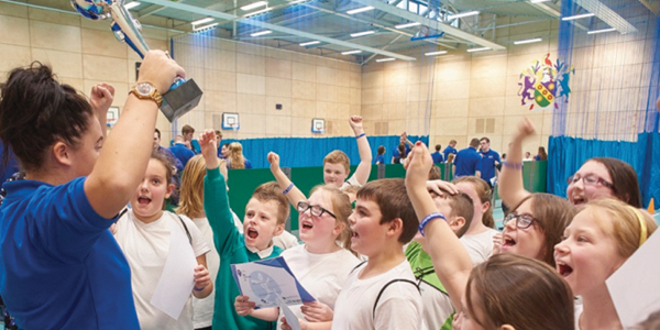 Edge Hill University and Everton in the Community has been awarded half a million pounds in recognition of the vital impact it has on the student experience
