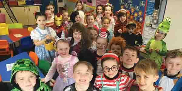 World Book Day at Melling Primary