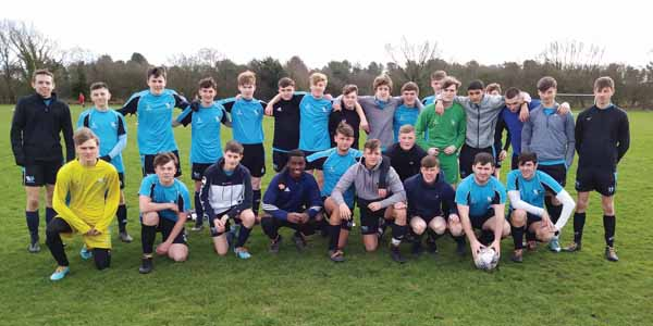 Winstanley College's 'first' football team had a magnificent unbeaten season