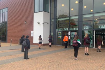 Year 10 students have made a welcome return to Rainford High