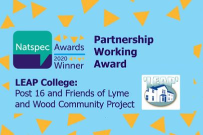 Wargrave House LEAP College in Newton-le-Willows were delighted and honoured to win the 'Partnership Working Award' at the inaugural Natspec Awards