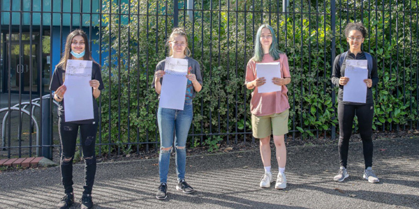 Students from the Academy of St Francis of Assisi (ASFA) came together to receive their GCSE results