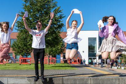 GCSE success at Rainford High