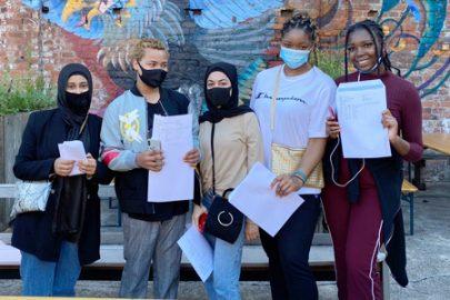 Life Sciences students celebrate GCSE success