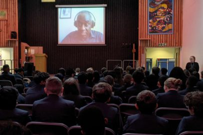 Top author virtually visits ASFA