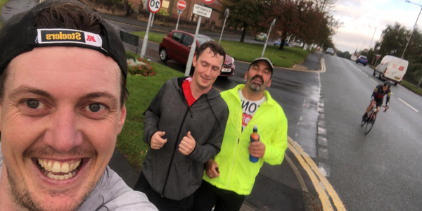 Alsop High School has sent their congratulations to teacher Mr Tony Williams for participating in the 'Virtual London Marathon' on Sunday 4 October
