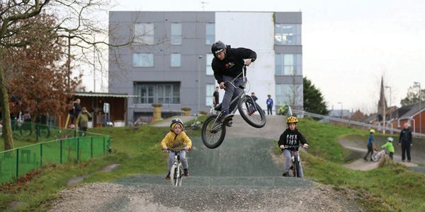 School meal provider Food for Thought supports 'BMX Eat Repeat' initiative