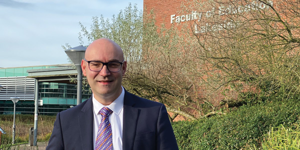 Professor Jonathan Glazzard as its new head of children, education and communities