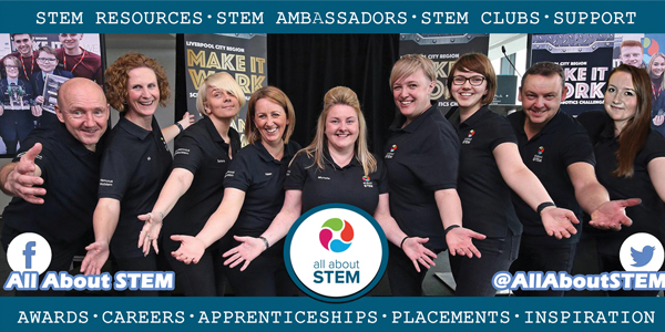 Throughout the pandemic All About STEM have continued to support schools to promote exciting and rewarding opportunities in science, technology, engineering and maths.