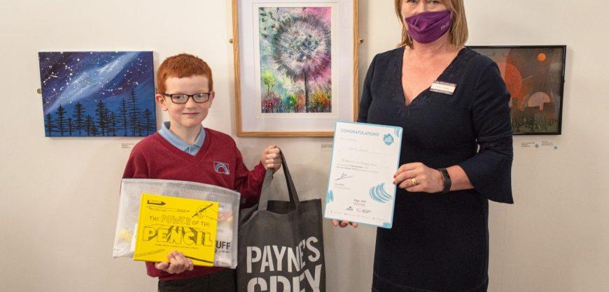 primary school art competition winner