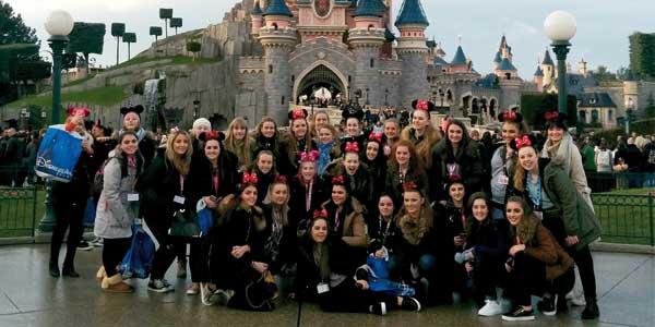 Students from Archbishop Blanch School visit Disneyland Paris