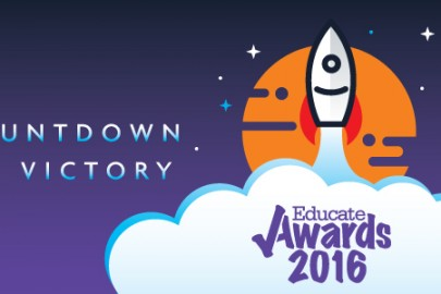 Countdown to victory - the educate Awards 2016