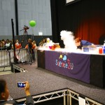 Dry ice to end the show
