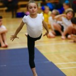 Ruby Coleman represents City of Liverpool Gymnastics Club
