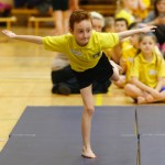 Balance is a key factor in gymnastics