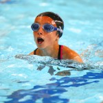 Swimmers from four schools took part
