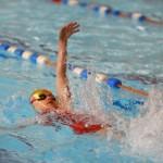 Great technique in the backstroke