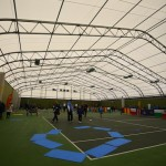 The event was held at Widnes Tennis Centre