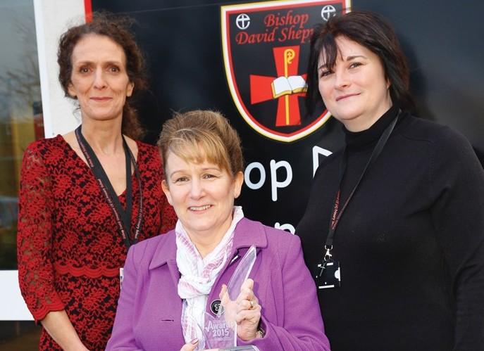 Deputy head Sue Sullivan, headteacher Karen Murphy and assistant head Siobhan Bayliff