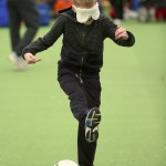 Blind Football tested each player