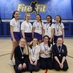 Year 9 winners St Hilda's