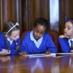Pupils listen intently