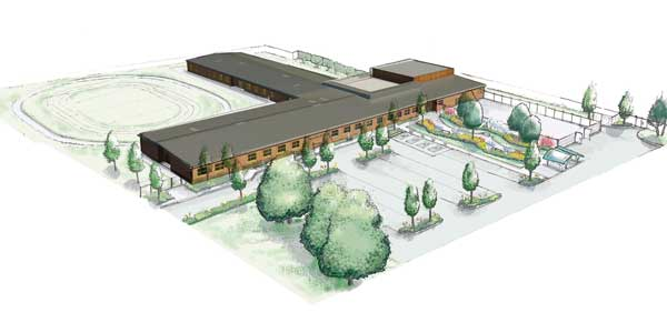 The proposed Palmerston School