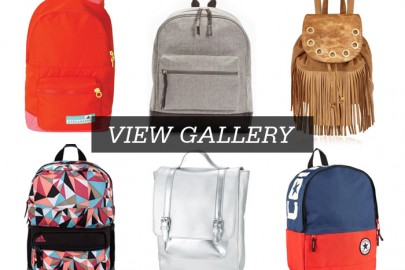 Bag it up - backpacks