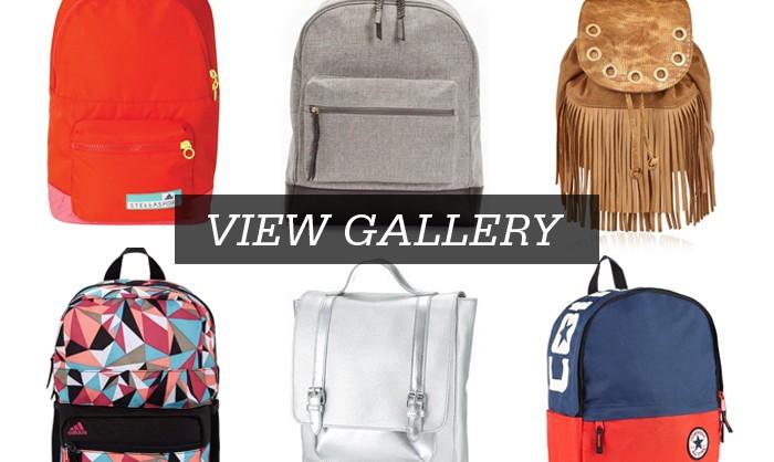 Bag it up - backpacks