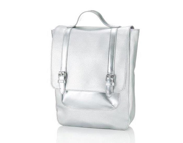 Buckle satchel rucksack