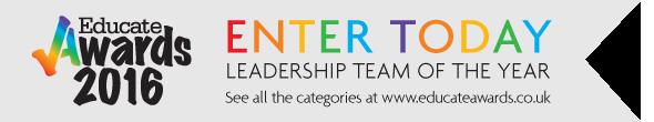 Educate Awards - Leadership Team of the Year
